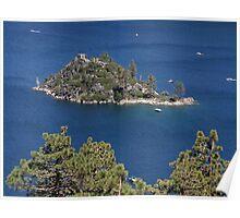 "Vikingsholm, The ""Tea House"" on Fannette Island Poster"