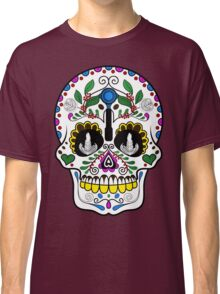 Mexican Coffee Skull Classic T-Shirt