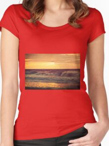 Find Light In The Beautiful Sea Women's Fitted Scoop T-Shirt