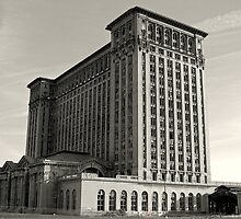 The Detroit Train Station by Diane  Kramer