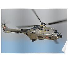 Swiss Air Force Super Puma Poster