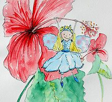 Cindy - Hibiscus Fairy by Amanda  Hazlett