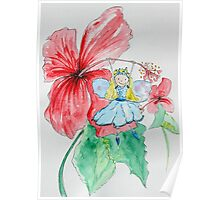 Cindy - Hibiscus Fairy Poster