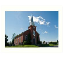 Gordon Presbyterian Church, St. Elmo. 1864. Art Print
