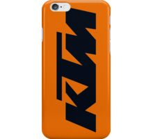 KTM iPhone Case/Skin