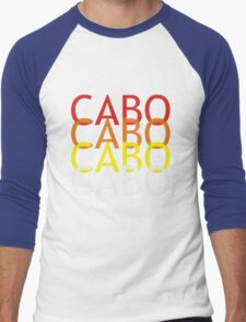 Cabo geek funny nerd Men's Baseball ¾ T-Shirt