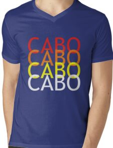 Cabo geek funny nerd Mens V-Neck T-Shirt