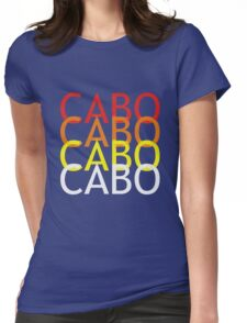 Cabo geek funny nerd Womens Fitted T-Shirt