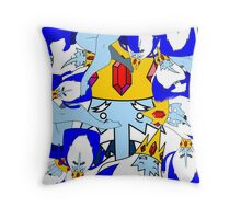 An Ode to the Ice King Throw Pillow