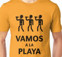 Vamos A La Playa (Beachparty / Black) Unisex T-Shirt