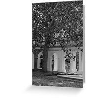 UVa Lawn 5 Greeting Card