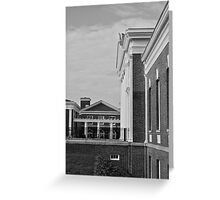 UVa Lawn 10 Greeting Card