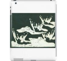 Black and White Raindrop #2 iPad Case/Skin