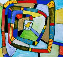 ROAD  TO  LOVE  by ART PRINTS ONLINE         by artist SARA  CATENA