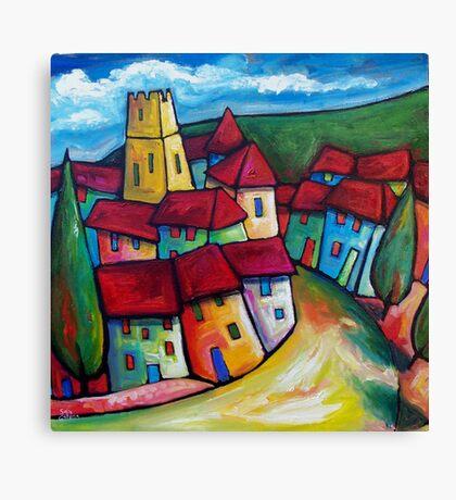 ROAD TO ALCUDIA , MALLORCA  -  SPAIN   Canvas Print