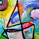 SAILING  2 by ART PRINTS ONLINE         by artist SARA  CATENA
