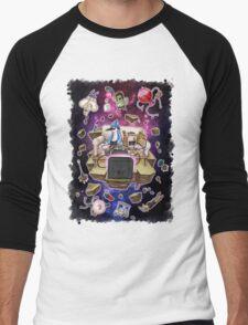 Regular Show Lost in Universe Men's Baseball ¾ T-Shirt