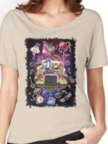 Regular Show Lost in Universe Women's Relaxed Fit T-Shirt