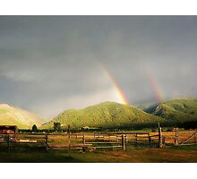 Rainbow Times Two Photographic Print