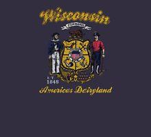 Vintage Wisconsin American Dairyland  Unisex T-Shirt