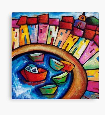 ST. TROPEZ   - FRANCE Canvas Print