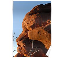 Rock sculptures...  Palm Valley Poster