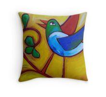 SUNDAYS  LOVEBIRD  Throw Pillow