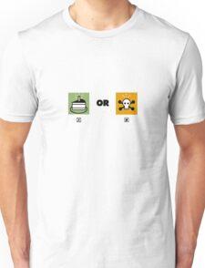 Cake or death funny nerd Unisex T-Shirt