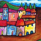 TOLEDO , SPAIN  by ART PRINTS ONLINE         by artist SARA  CATENA