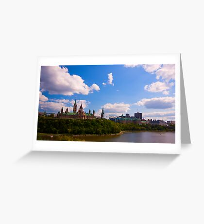 Canadian Parliament Buildings - Ottawa Greeting Card