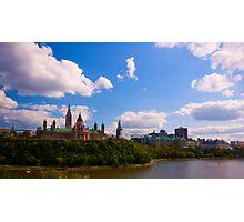 Canadian Parliament Buildings - Ottawa Photographic Print