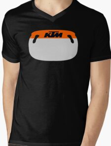 Customizable Pit Board Mens V-Neck T-Shirt