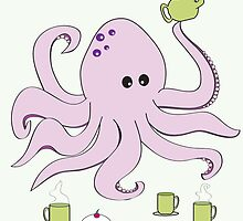 Octopus Tea Party by RocketGirl