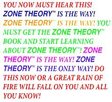 Zone Theory Threatening Message Tim and Eric by PrettyStuff
