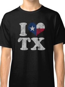 I Heart Texas Flag TX Classic T-Shirt