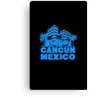 Cancun mexico geek nerd Canvas Print