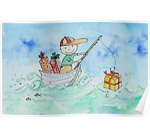 Alex - Fishing for Gifts Poster
