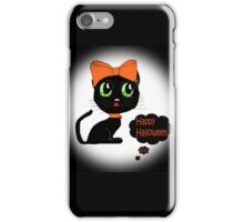 Anime Cat Halloween iPhone Case/Skin