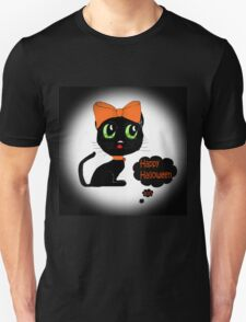Anime Cat Halloween Unisex T-Shirt