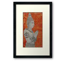 Hello Buddha Framed Print