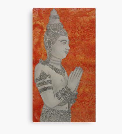 Hello Buddha Canvas Print