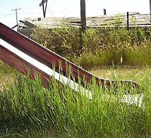 disused slide by airplanejayne