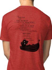A rudderless universe Tri-blend T-Shirt