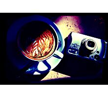 Coffee. Lomography Photographic Print