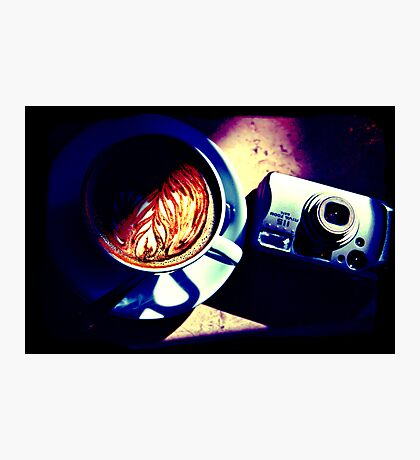 Coffee. Lomography Photographic Print