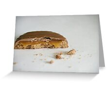 Caramel Crown Greeting Card