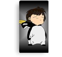 Penguin Onesie!!! Canvas Print