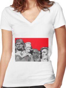 Arsenal Legends Women's Fitted V-Neck T-Shirt