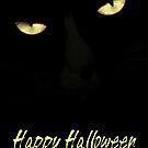 Happy Halloween 1 - Cat Eyes by AngieM