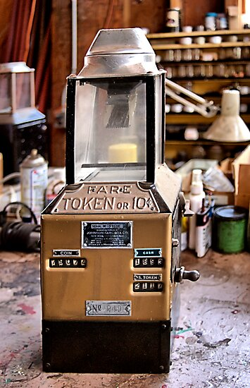 Johnson Fare Box by Bob Wall